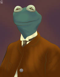 Kermit T. Frog Esquire by jackcrowder