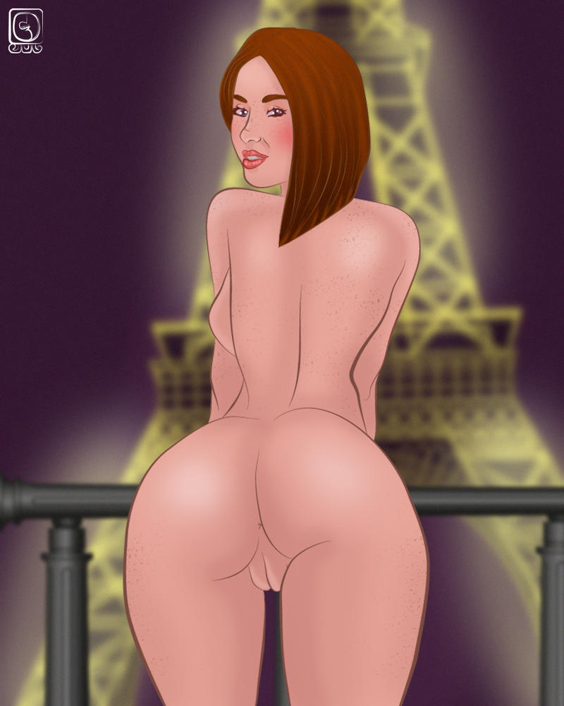 look upon the EIFFEL TOWER by jackcrowder
