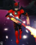 RED LANTERN Dark Claw by jackcrowder