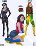 ENVIOUS of the X-WOMEN