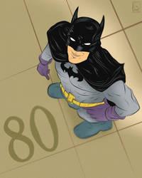 Batman 80th by jackcrowder