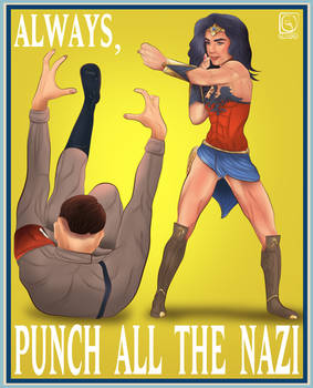 ALWAYS punch ALL the NAZI