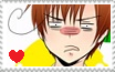 Romano's angry/disgusted face stamp by Finnyeh