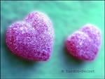 Petit coeur en sucre