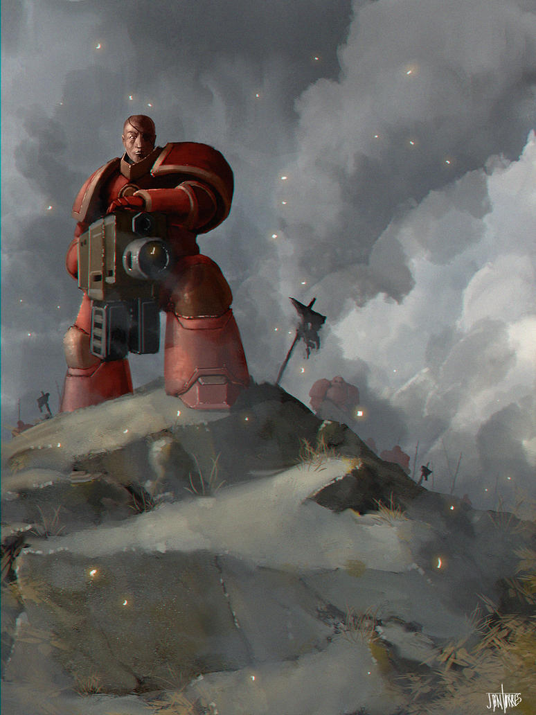 Space Marines by FaceGrater