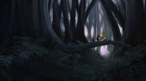 Dark Forest 2 by jontorresart