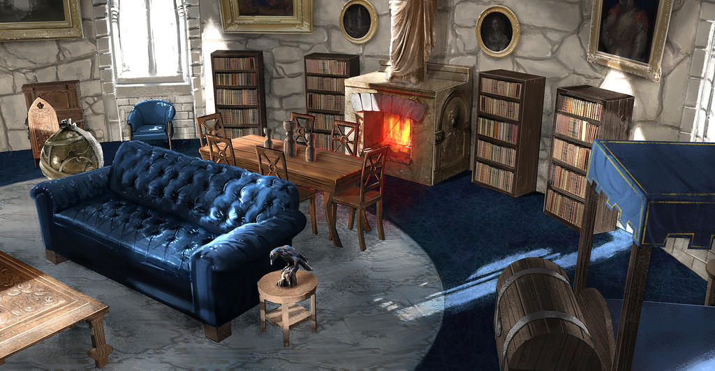 Ravenclaw Dorms by FaceGrater
