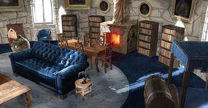 Ravenclaw Dorms by jontorresart