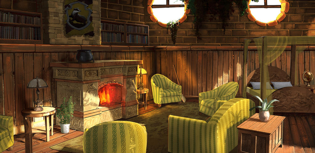 HufflePuff Dorms By Jontorresart ... Part 85