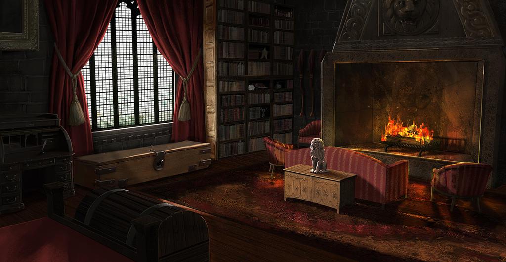 Gryffindor Dorms by FaceGrater