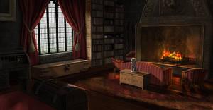 Gryffindor Dorms by jontorresart