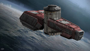 Water Transport Ship