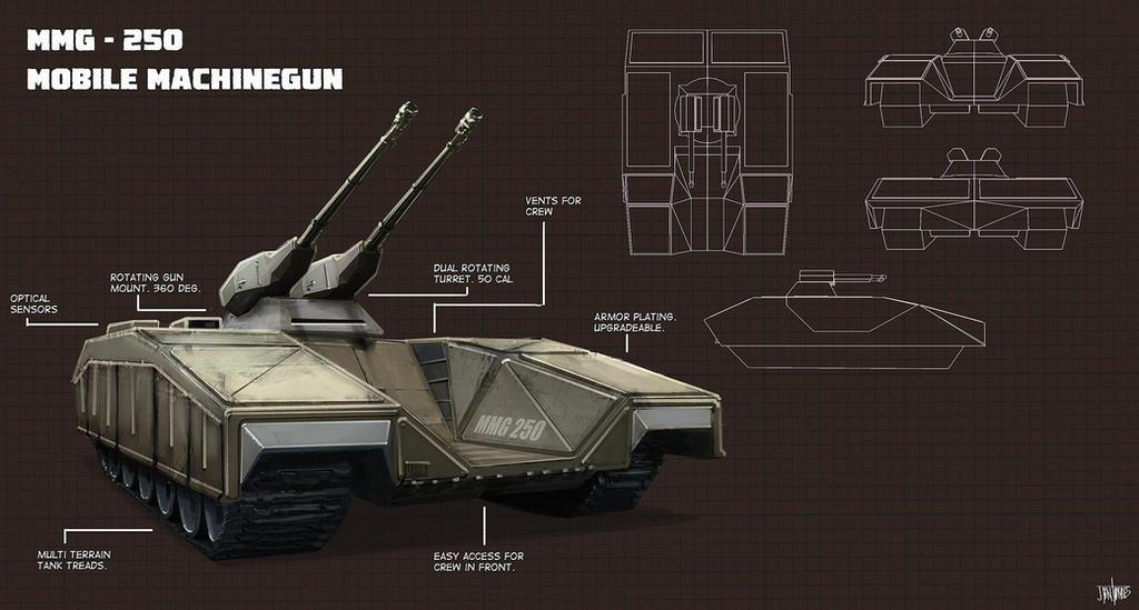 Mmg250 Concept Vehicle by jontorresart
