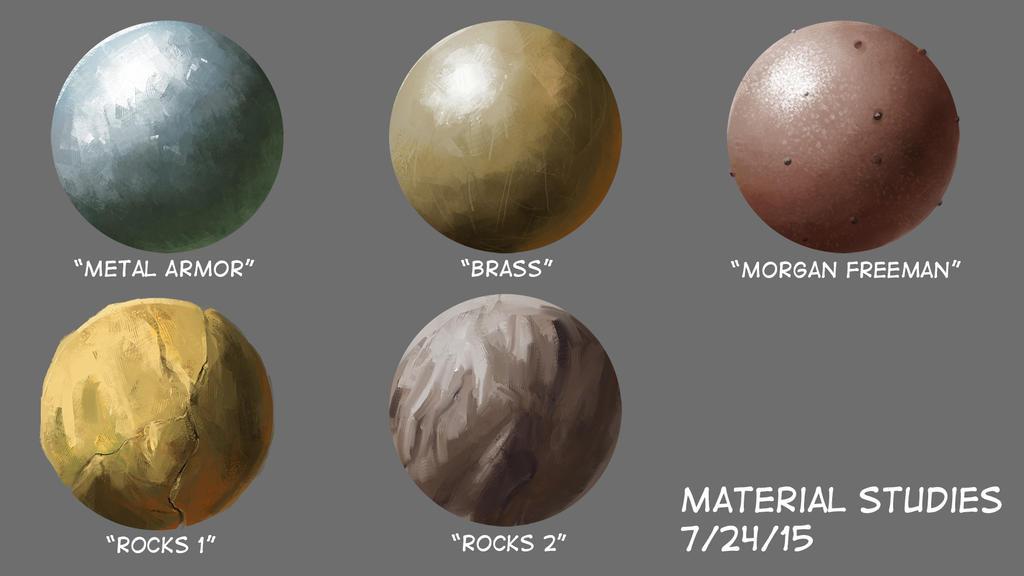 Material Study July 24 2015 by jontorresart
