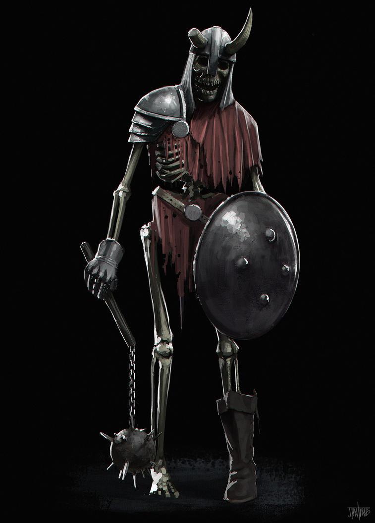 Skeleton by jontorresart