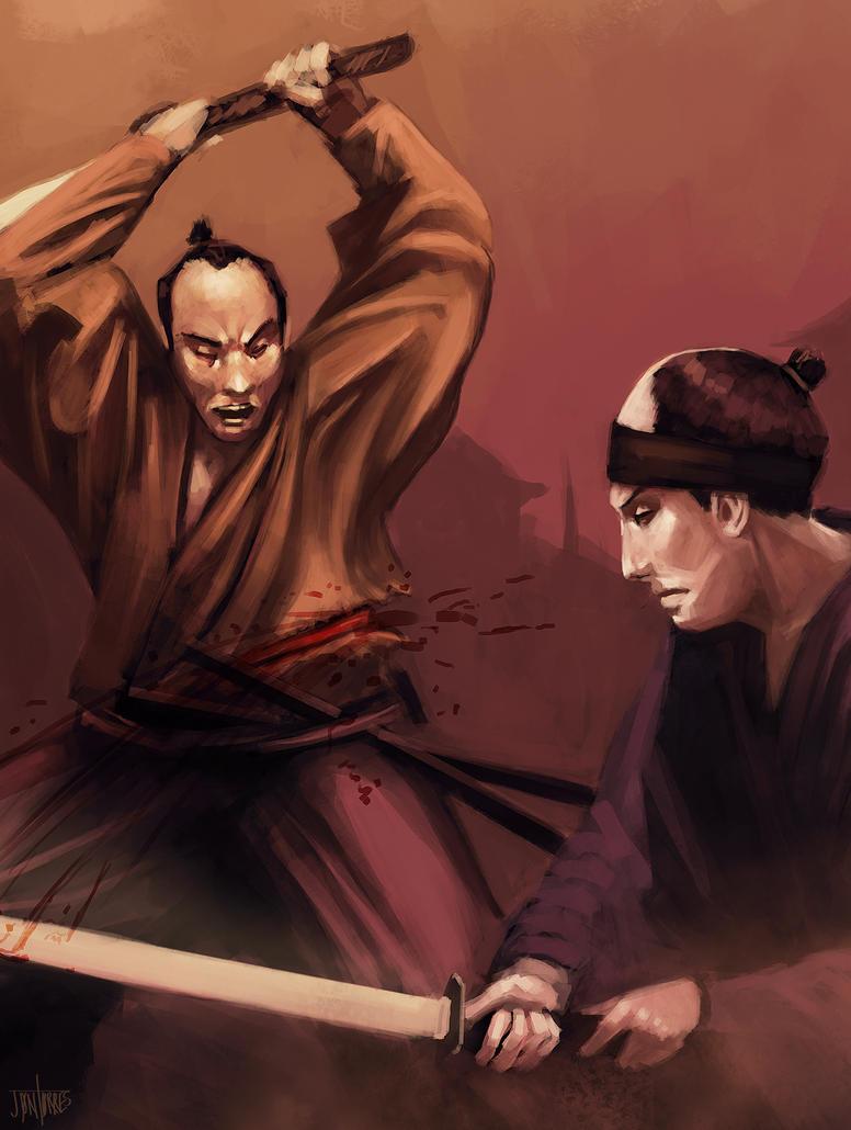 Duel by jontorresart