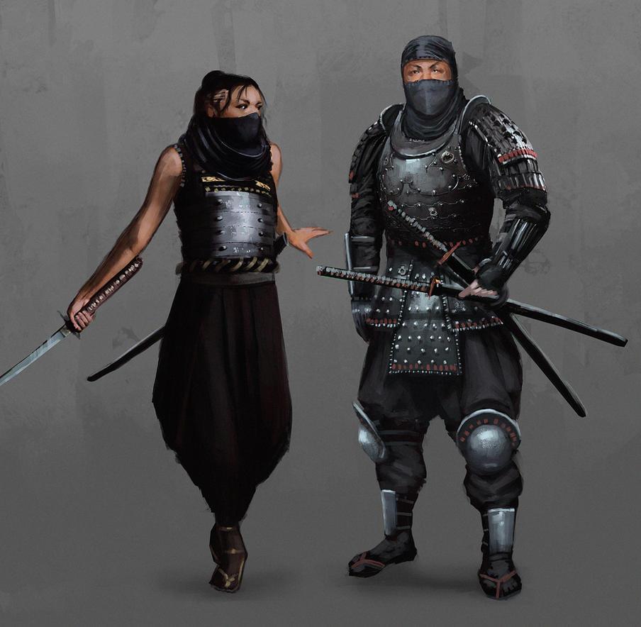 Ninja Class by jontorresart