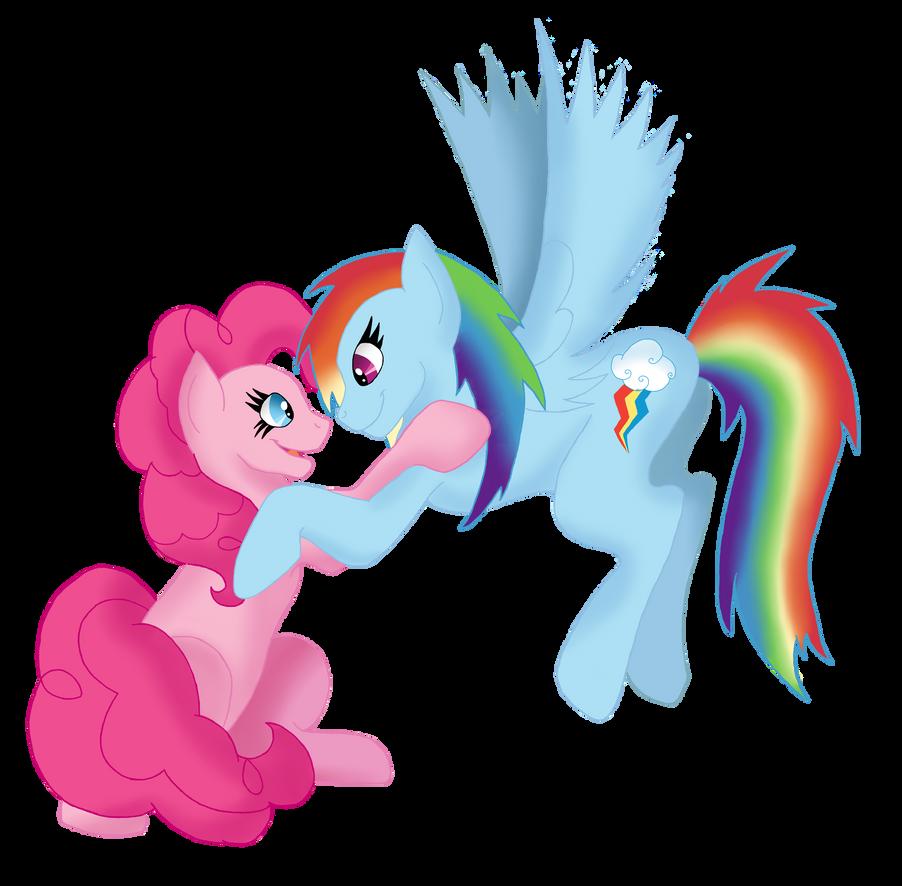 My Little OTP - RainbowPie by NastyLittleCuss