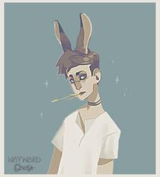 Bunny Boy by WAYWARD-GH0ST