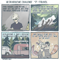 #30aboutme Challenge 7 - Travel