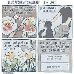 #30aboutme Challenge 8 - Love