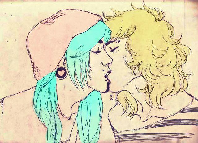 Just. A. Kiss. by StrawberryPandaVibe