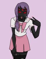 Arachnid girl by RaptureStatic