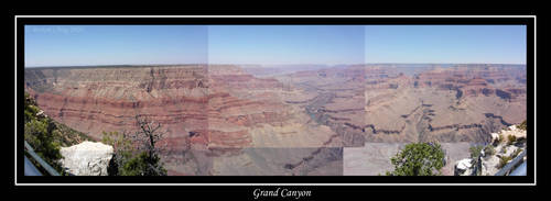 Grand Canyon Panoramic by archangelhunter