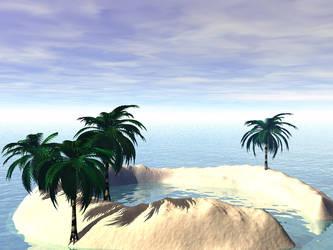 Paradise Lagoon by archangelhunter