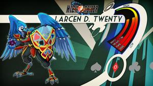 High Roller F.C.: Larcen D. Twenty Stats and Bio by Alucard009