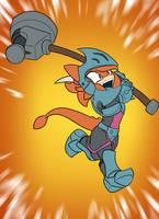She's Got a Hammer! by Toughset by Alucard009