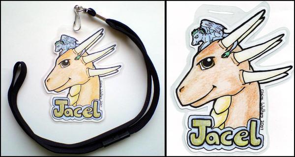 C: Jacel Conbadge by ladynaoko