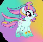 Rainbow Power Sunny Flare