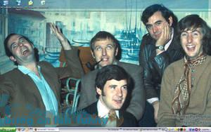 Monty Python Crew by chaimonkey