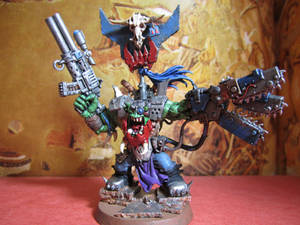 Ork Warboss with Chain-Power claw Final