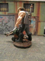 Kit bashed Shadowrun Troll with Ax and Bow