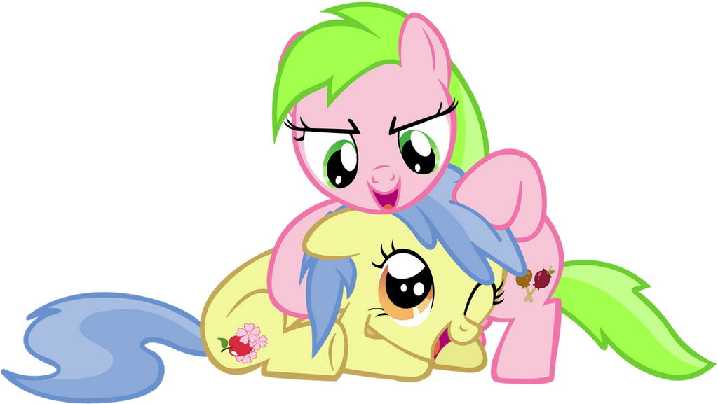 Sweet Tooth and Apple Flora by Leapingriver