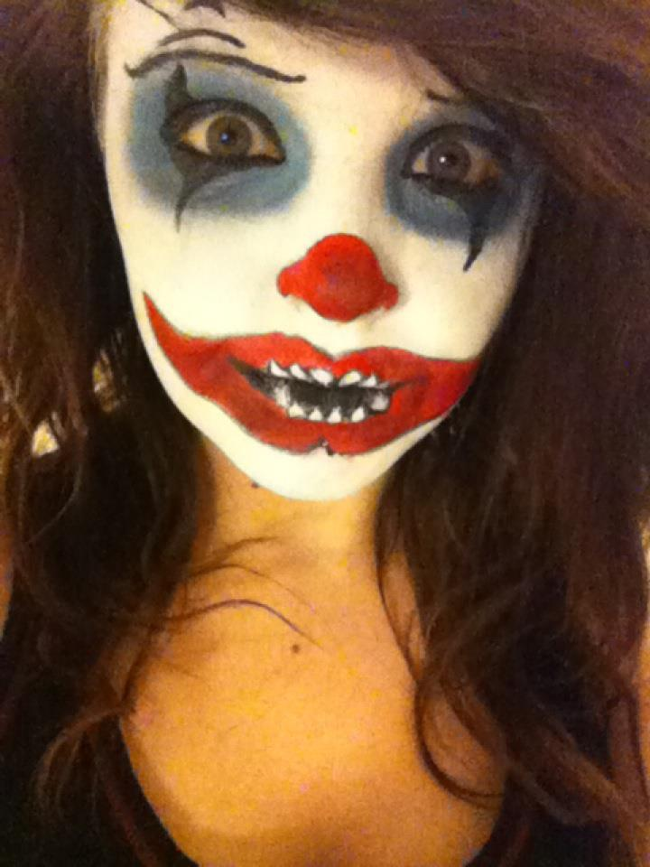 Scary Clown Makeup  by Onii-Jurai on DeviantArt