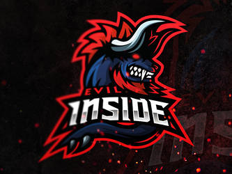 Evil Inside Esport Logo by Freestyler92