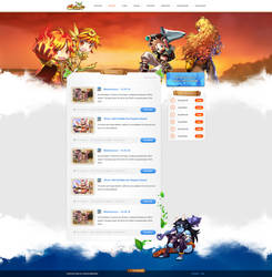 Skyland Website by Freestyler92