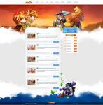 Skyland Website by Freestyler92