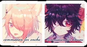 /commission II by Meowkuro