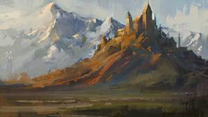 castle  by ArtofReza