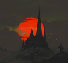 Red Moon by ArtofReza