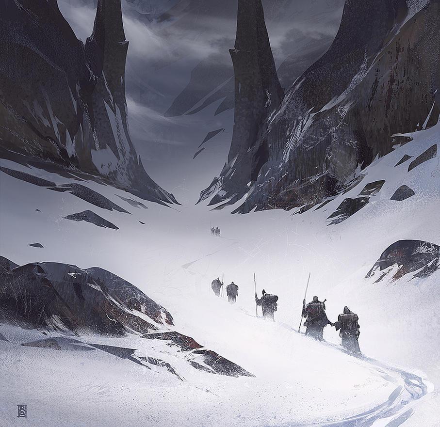Mountain Path by ArtofReza