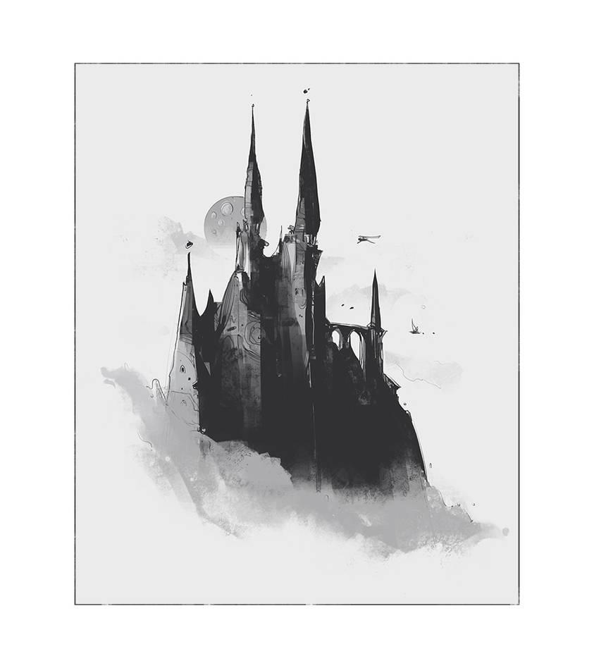 Dark castle by ArtofReza