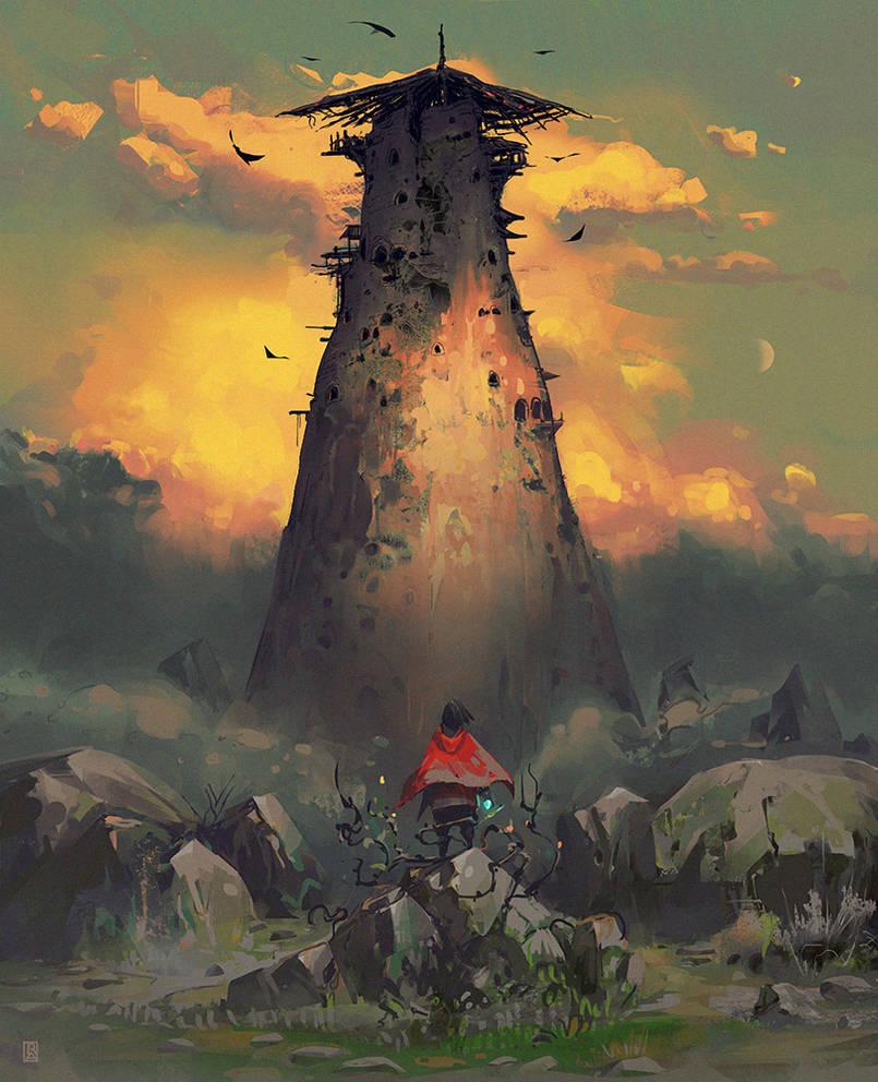 Tower by ArtofReza