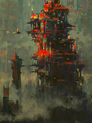 Scifi Tower