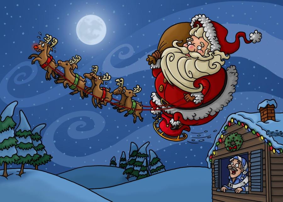 Twas The Night Before Christmas Cartoon | quotes.lol-rofl.com
