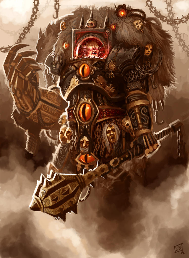 The Warmaster Horus by Vanagandr